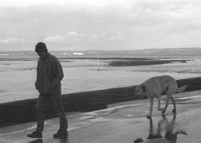 Black & White Photograph, Cramond Beach