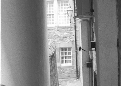 Black & White Photograph, Edinburgh Close