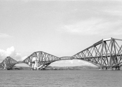 Black & White Photograph, Forth Bridge