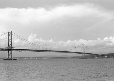 Black & White Photograph, Forth Road Bridge