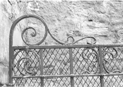 Black & White Photograph, Gate