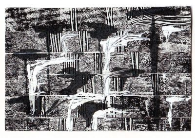 Forest, Monoprint