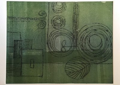 Green motives, Etching and Monotype