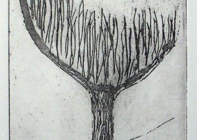 Tree, Etching