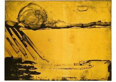Yellow Land, Photo intaglio Print