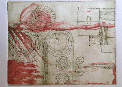 Etching II, Photo intaglio Print